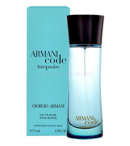 Armani Code Turquoise Eau Fraiche for Men