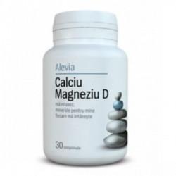 Calciu Magneziu D 30 capsule Alevia