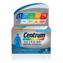 Centrum Silver 50+ pentru bărbați, 30 comprimate, Gsk