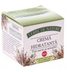 Crema Hidratanta Ten Uscat si Sensibil Manicos 50 ml