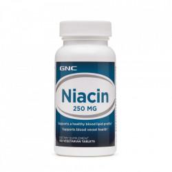 Niacina 250 mg -100 tablete GNC