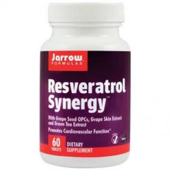 Resveratrol Synergy 20 mg SECOM Jarrow Formulas 60 tablete