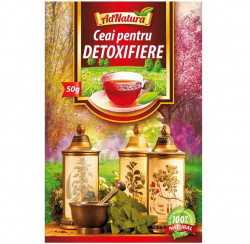 Ceai pentru Detoxifiere AdNatura 50 g