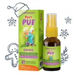 PufyPUF Salvie spray 20 ml - calmeaza durerile de gat