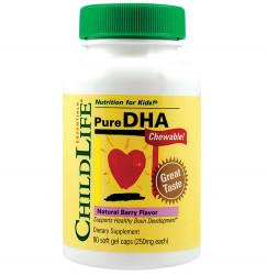 Pure DHA copii SECOM ChildLife 90 capsule