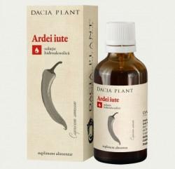 Tinctura de Ardei Iute Dacia Plant 50 ml