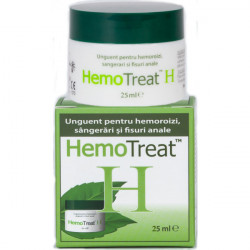 HemoTreat H Unguent Hemoroizi Global Treat 25/50 ml