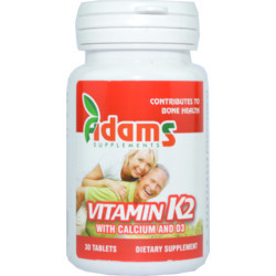 Vitamina K2+Ca+D3 Adams Vision