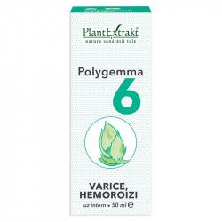 Polygemma 6 (Varice, Hemoroizi) PlantExtrakt 50 ml
