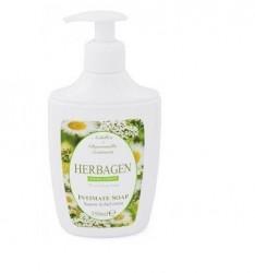 Sapun lichid intim cu extracte de musetel Herbagen, 350 ml