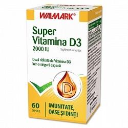 Super Vitamina D3 2000IU Walmark 60 capsule