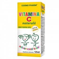 Sirop Advance Kids Vitamina C Naturala 125 ml Cosmopharm