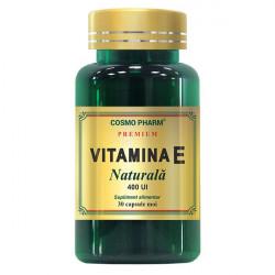 Vitamina E Naturala 400mg 30 capsule Cosmopharm