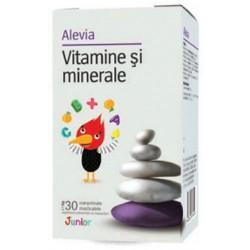 Vitamine si minerale Junior capsule masticabile Alevia