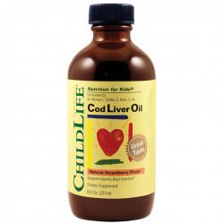 Cod Liver Oil pentru copii SECOM ChildLife 237 ml