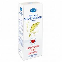 Ulei din ficat de cod natural LYSI 240 ml