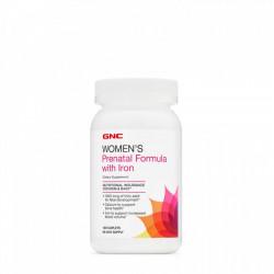 Women's Prenatal Formula cu fier 120 tablete GNC