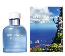 D&G Light Blue Beauty of Capri