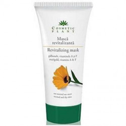 Masca revitalizanta cu extract de galbenele Cosmetic Plant 100 ml