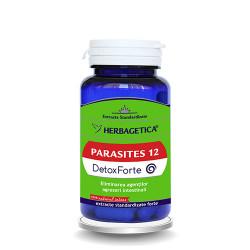 Parasites 12 Detox Forte Herbagetica capsule