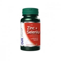 Zinc+Seleniu+Vitamina C DVR Pharm 60 capsule
