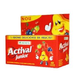 Actival Junior, 60 comprimate, Beres Pharmaceuticals