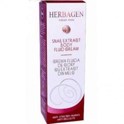 Crema fluida de corp cu extract de melc Herbagen 200 ml