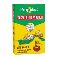 Propolis C Raceala si Gripa Adulti Fiterman Pharma 8 plicuri