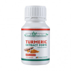 TURMERIC EXTRACT FORTE 100% natural, 120 capsule, Health Nutrition