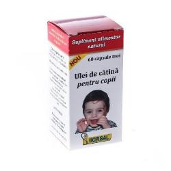 Ulei de Catina pentru copii Hofigal, 60 capsule moi