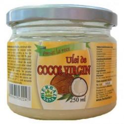 Ulei de Cocos Virgin Herbavit 250 ml