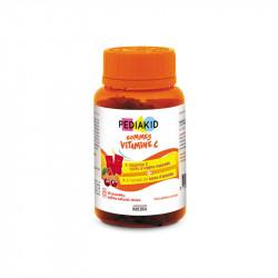 Vitamina C cu Acerola, 30 capsule gumate, Pediakid