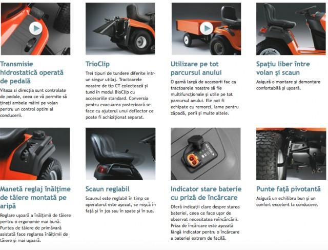 tractor tuns gazon husqvarna tc 142t. Black Bedroom Furniture Sets. Home Design Ideas