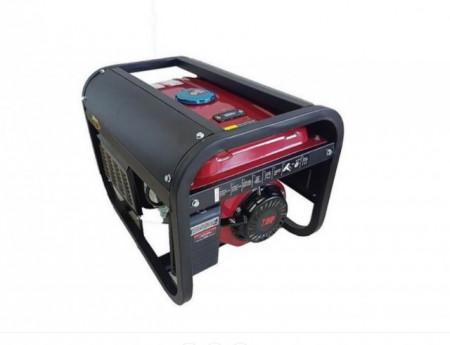 Generator de curent DKD LB 3900E monofazat cu motor de 7CP, pornire electrica, putere maxima 3000 W