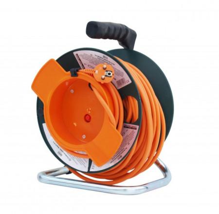 Hecht 150153 Prelungitor cablu cu rola 50 m