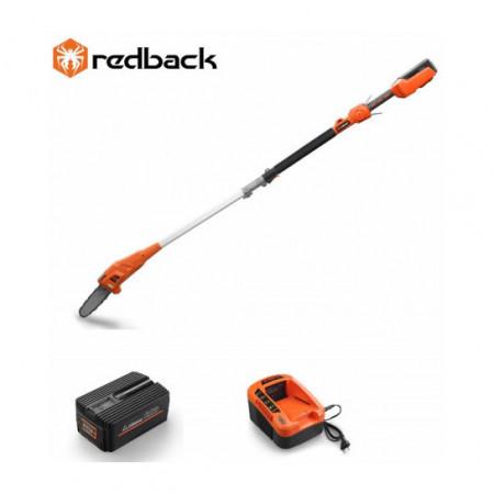 Set Redback emondor E608D 40V + acumulator Li-Ion EP60 40V/6Ah + incarcator rapid EC50 40V/5A