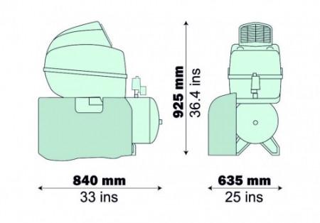 Compresor Fiac medical tip AIR TECH 50/204 ES silent