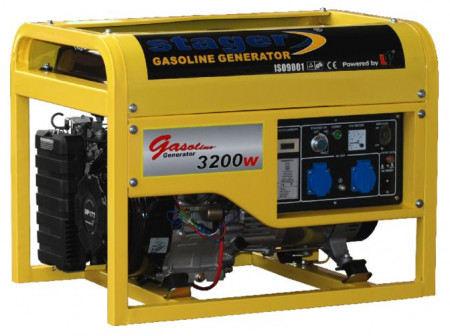 Poze Generator curent benzina Stager GG 4800 E+B
