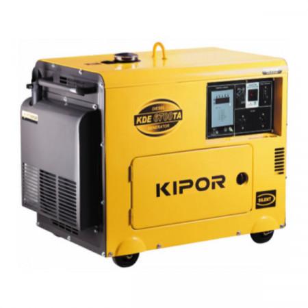 Generator curent diesel Kipor KDE 6700 TA + Automatizare