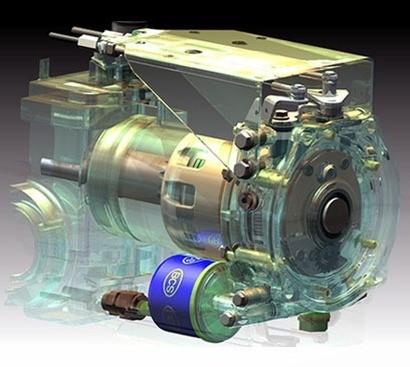 Motocultor Ferrari 338 Power Safe (Sasiu + Motor GX270, 9.0 CP + Roti 5.0-10 + Freza 66 cm)