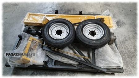 Remorca Type B 500kg Progarden