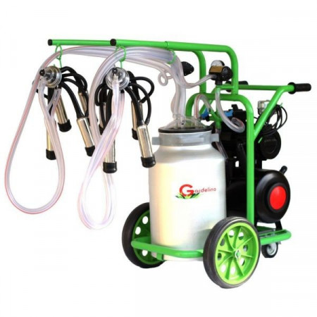 Aparat de Muls T240 Aluminiu IC Gardelina Green Line 2 posturi, 40 L