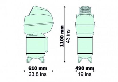 Compresor medical Fiac tip DE 50/254 SILENT