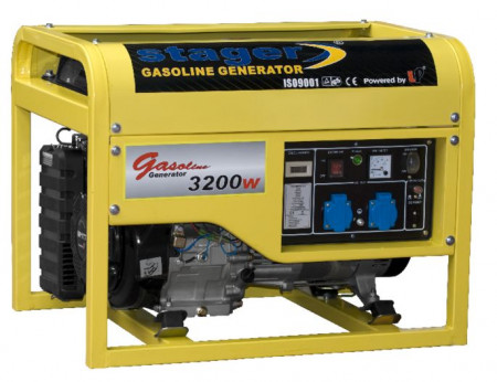 Poze Generator curent benzina Stager GG 4800