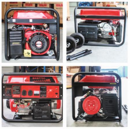 Generator curent Breckner BS 7500, 6 KW, benzina, 420 cmc, 380 V