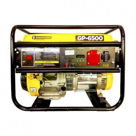 Generator de curent trifazic GP 6500, cu motor de 13 CP, putere maxima 5.5Kw, AVR automat