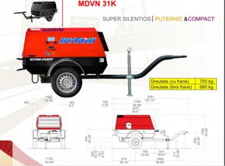 Motocompresor Rotair MDVN 31 K