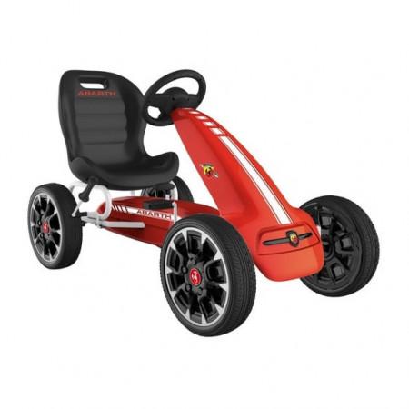 ABARTH Red Kart cu pedale, greutate maxima suportata 25 kg