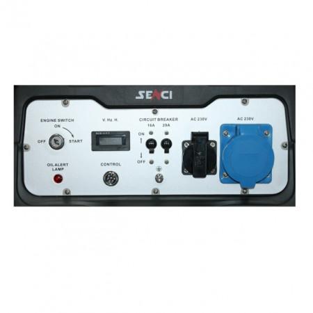 Generator SC-8000-ATS Putere max. 7.0 kw, 230V, AVR, motor benzina