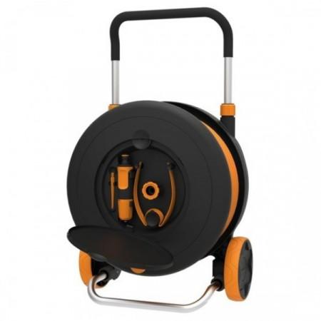 Set furtun cu tambur Fiskars Waterwheel L, 30m